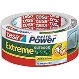 Tesa Extra Power Extreme - Cinta reforzada (20 m x 48 mm) transparente