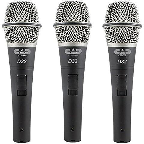 CAD Audio-Microfono dinamico d32 x 3