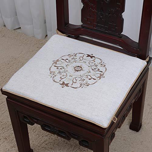 QTQHOME Kissen für Sofa Simple Stuhl Küche Esszimmer Stoßdämpfer Esszimmerstuhl Dämpfer Bürostuhl - Dampfer-stuhl-kissen