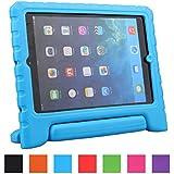 LEADSTAR Apple iPad Air/iPad 5 Prueba de Golpes para Niños Mango de EVA Funda Convertible Función Atril - Azul
