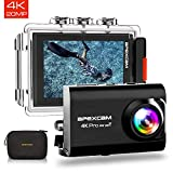 Apexcam 【2019 Nuova】 Action Cam PRO 4K EIS WiFi 20MP Ultra HD Impermeabile 40M Sott'Acqua Sport...