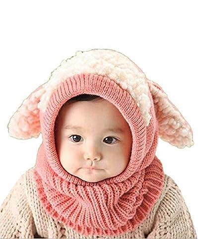 Vimeet Baby Kinder Winter Warm Gestrickter Mütze Beanie Mütze Haube