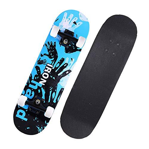 Penny Board Complete Skateboards Cruiserboosted Board 7-stöckiges Ahorndeck für Erwachsene für Erwachsene, Kinder-Skateboard für Anfänger und Profis