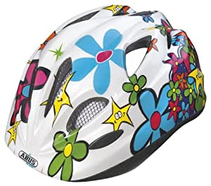 ABUS Kinder Fahrradhelm Chilly, Funnyflower, 46-52 cm, 45658