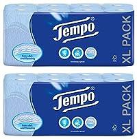 Tempo Toilet Tissue 3-ply 32 rolls Blue