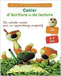 Cahier d'écriture et de lecture CP