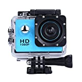 Vemont 1080p 12MP Action Kamera Full HD 2,0 Zoll Bildschirm 30m/98 Fuß...