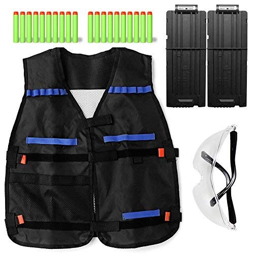 Just Adjustable Tactical Vest With Storage Pockets Toy For Nerf N-strike Elite Team Lustrous Women's Clothing