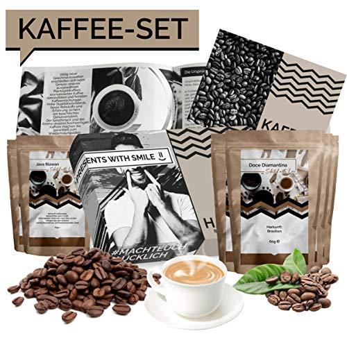 Kaffee Geschenkset Kaffee Kaffee Geschenkset Kaffee Geschenkbox | 5x60g Kaffee Weltreise Geschenkidee für Frauen Freundin | Kaffeebox Geschenk Box Geburtstag Weihnachten