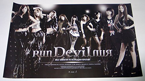 SM Entertainment SNSD Girls' Generation - Run Devil Run (Vol. 2 Repackage) Official Poster 36.2 X 22.8 inches (Generation Devil Girls Run Run)