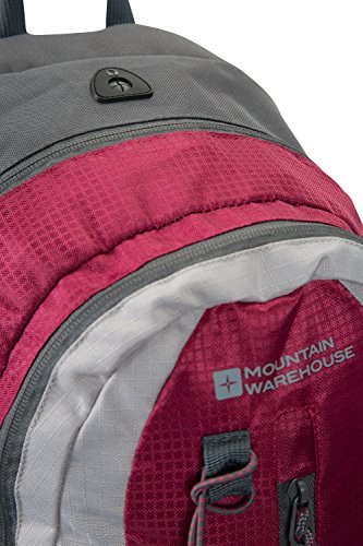 Mountain Warehouse Merlin 23-Liter-Rucksack Rosa