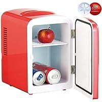 Mini réfrigérateur 2 en 1 avec prise 12 / 230 V - rouge