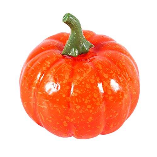 e squash falsche künstliche mini Orange pumpkin halloween Deko Party neue