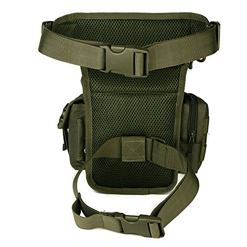 freedom-vp sport militare tattico multiuso Racing Drop Leg bag motorcycle Outdoor Bike Cycling Thigh bag marsupio per escursionismo caccia, Army Army