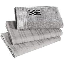 WMF Küchenhandtuchset 3-teilig WMF ProfiSelect Baumwolle
