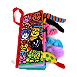 Animal Tail Cloth Book Infant Learning Toy Education Development Books