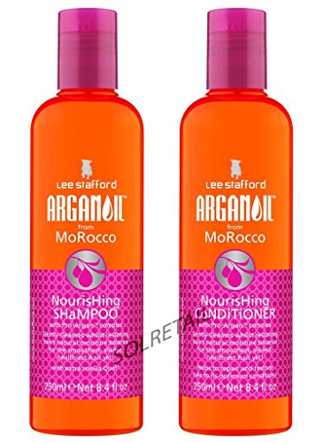 Lee Stafford ArganOil From Morocco Shampoo & Conditioner Duo 2 x 250ml