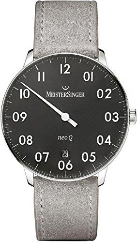 MeisterSinger Herrenuhr Einzeigeruhr mit Zusatzfunktion Neo Q NQ902N