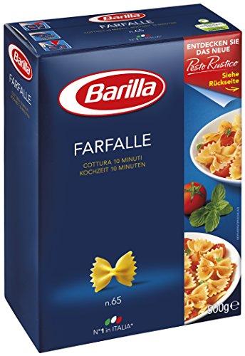 Barilla Farfalle 500 g - Lot de 4