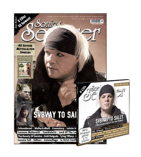Sonic Seducer 03-14 mit Subway To Sally-Titelstory + 40 Seiten Mittelalter- Special + 32 Songs auf 2 CDs (ca. 150 Minuten), Bands: Schandmaul, Welle: Erdball u.v.m.
