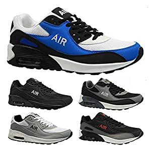 Gemini Mens Shock Absorbing Running Trainers Casual Lace Gym Walking Sports Shoes Size UK 6-12
