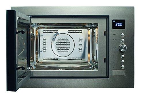 Caso EMCG32 Einbaumikrowelle inkl. Grill 1100 Watt und Heißluft 2500 Watt / 10 automatische...