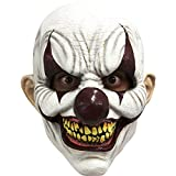 Unbekannt Générique mahal681-Vollmaske Latex Erwachsene Clown unheilvolles-Einheitsgröße
