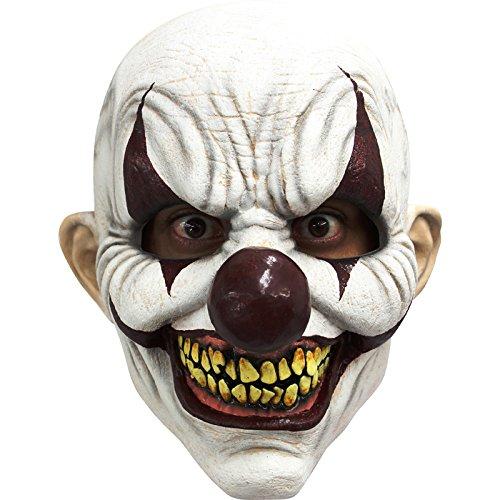 Unbekannt Générique mahal681-Vollmaske Latex Erwachsene Clown unheilvolles-Einheitsgröße (Masque De Clown Halloween)