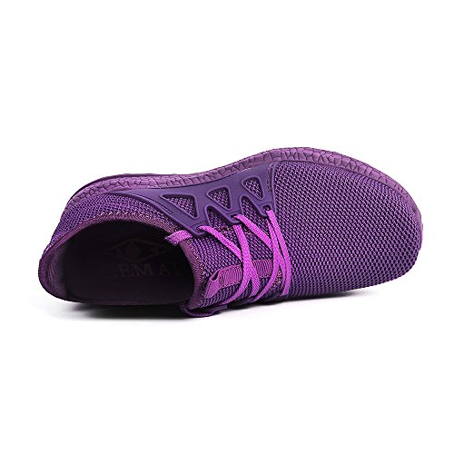 Zocavia Scarpe Da Corsa Da Donna Sneaker Scarpe Da Trekking Leggere Traspiranti Viola