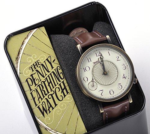 Penny Farthing Vintage Bicycle Unisex Analog Watch