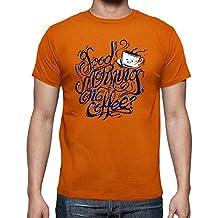 latostadora - Camiseta Good Morning One Coffee para Hombre 96f8c146048