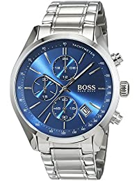 HUGO BOSS Men's Chronograph Quartz Watch with Stainless Steel Bracelet – 1513478