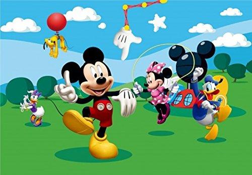 Fototapete Disney Micky Maus Kindertapete Foto 360 x 254 cm (Mickey Maus Fotos Von)