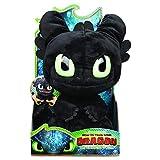 Dragons 3 - 6052481 - Jeu Enfant - Peluche Interactive - Peluche Krokmou Deluxe Grogneuse - Film Dragons 3 Le Monde Caché