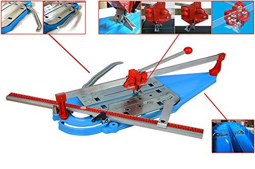 Profi Fliesenschneider 950 mm Schneidmaschine 9-fache Kugellagerführung Fliesenschneidmaschine