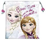 Princesas Disney - Frozen saquito merienda, 25 x 22 cm (Kids WD17865)