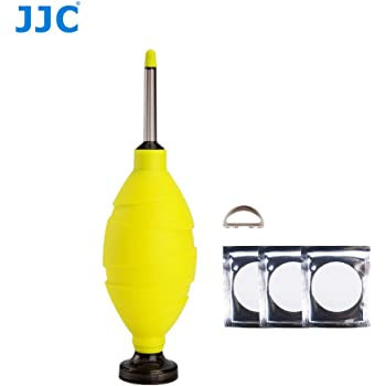 JJC CL-DF1Y Long Nozzle Dust-free Air Blower - Yellow