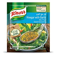 Knorr Salad Mixes Vinegar & Garlic - 10gm (Pack of 4)