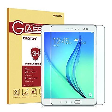 Omoton Film Samsung Galaxy Tab A 9.7 protecteur d'écran en verre trempé - Protection écran