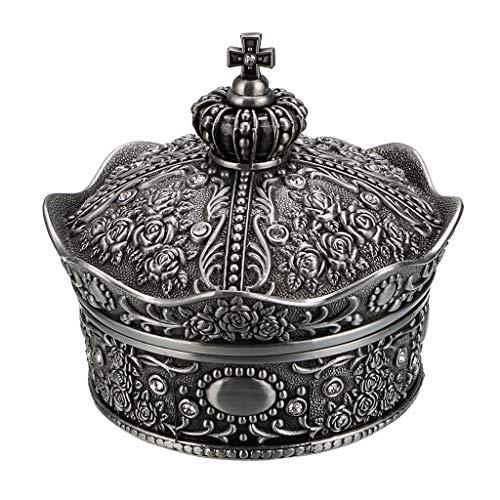 Sumnacon - Joyero con Forma de Corona para Anillos