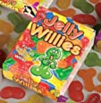Fun Rude Jelly Willies Fruity Flavour - 29022