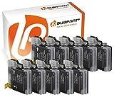 Bubprint 10 Druckerpatronen kompatibel für Brother LC-1100 LC-980 BK für DCP-145C DCP-195C DCP-375CW DCP-J715W MFC-490CW MFC-5890CN MFC-6490CW Schwarz