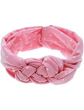 Zhhlinyuan Kids Hairband Wave Point Headband Baby Girls Elastic Hair Accessories
