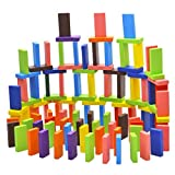 #4: Celebration ™ Wooden dominos toys For Kids And Adults (60pc Mix color)