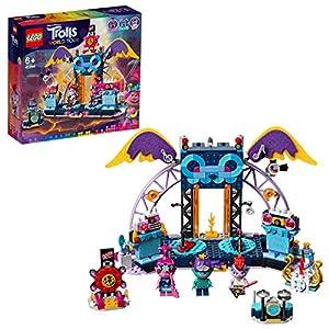 LEGO TrollsWorldTour ConcertoaVulcanoRockCity, Playsetcon Poppy,BrancheBarb,Palcoscenico e Chitarre, 41254 5702016616804 LEGO