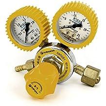 0-2.5Mpa 0-25Mpa gas oxígeno de soldadura del soldador Regulador Indicador de