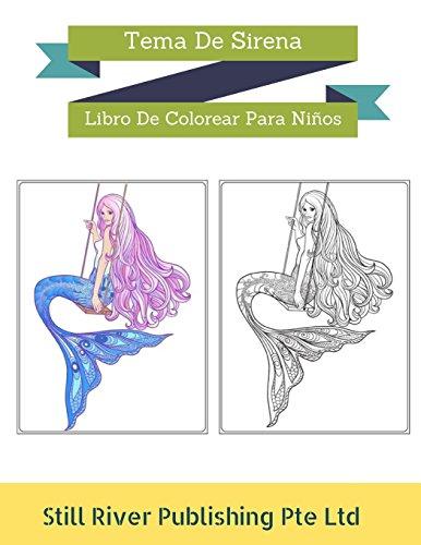 Descargar Tema De Sirena: Libro De Colorear Para Niños por Still ...