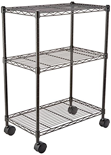 AmazonBasics 3-Shelf Shelving Un...