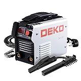 DEKO DKA Série IGBT Machine de Soudure électrique à arc Inverseur Soudeuse 220V MMA pour Travaux de Soudage et Équipement pour soudage à l'arc