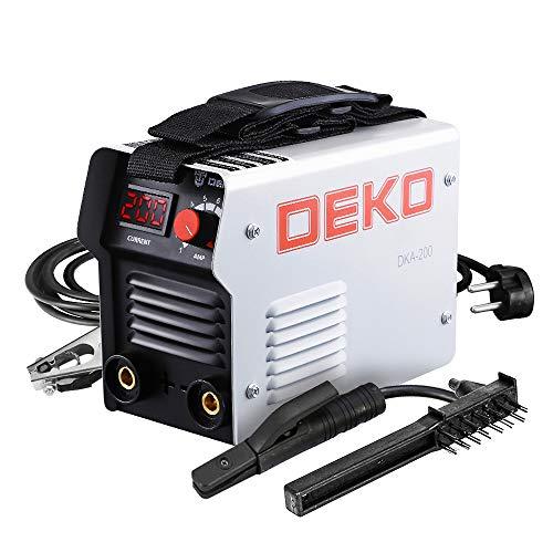 DEKO DKA Series IGBT Soldadora Eléctrica de Arco Inversor 220V MMA So